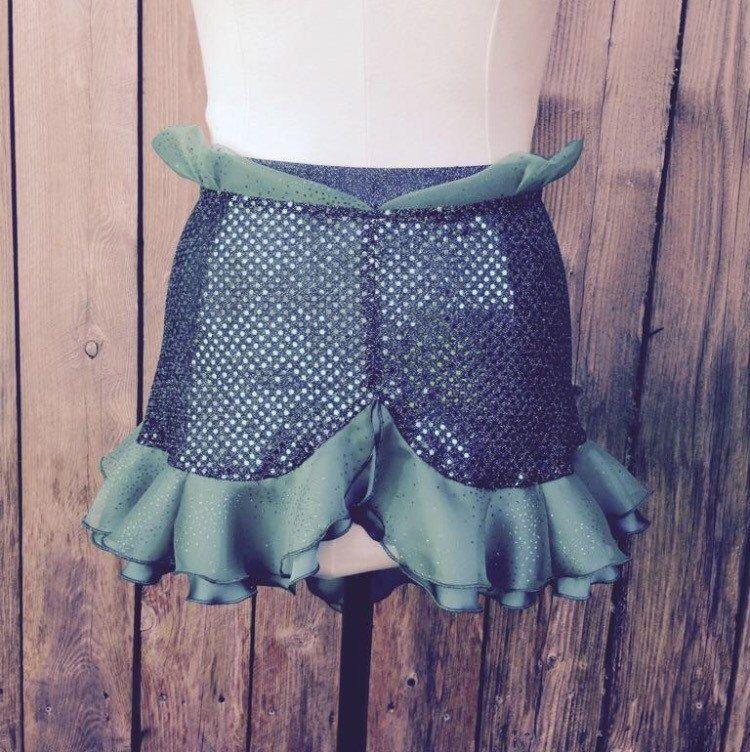 Ariel Inspired Running Skirt by runthekingdom on Etsy