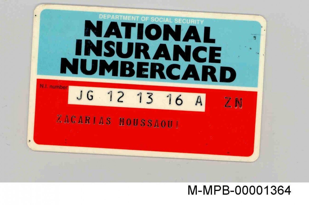 National Insurance Card 2 2 Clarifications On National Insurance Card 2 National Insurance National Insurance Number National