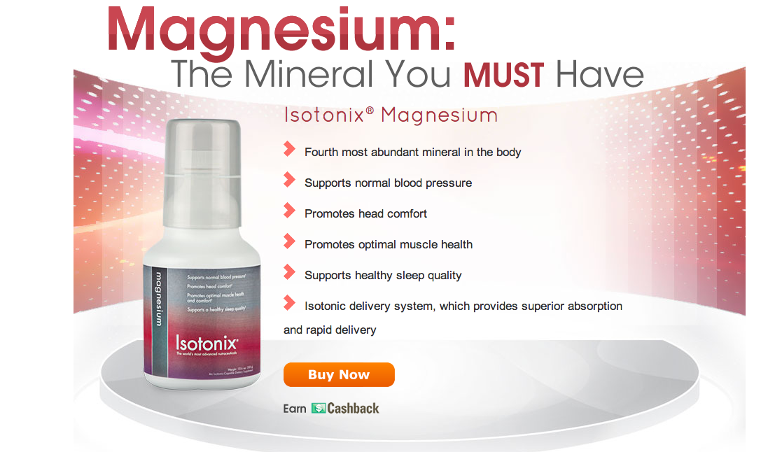 Isotonix Magnesium now available at Simeone Shop! $39.95