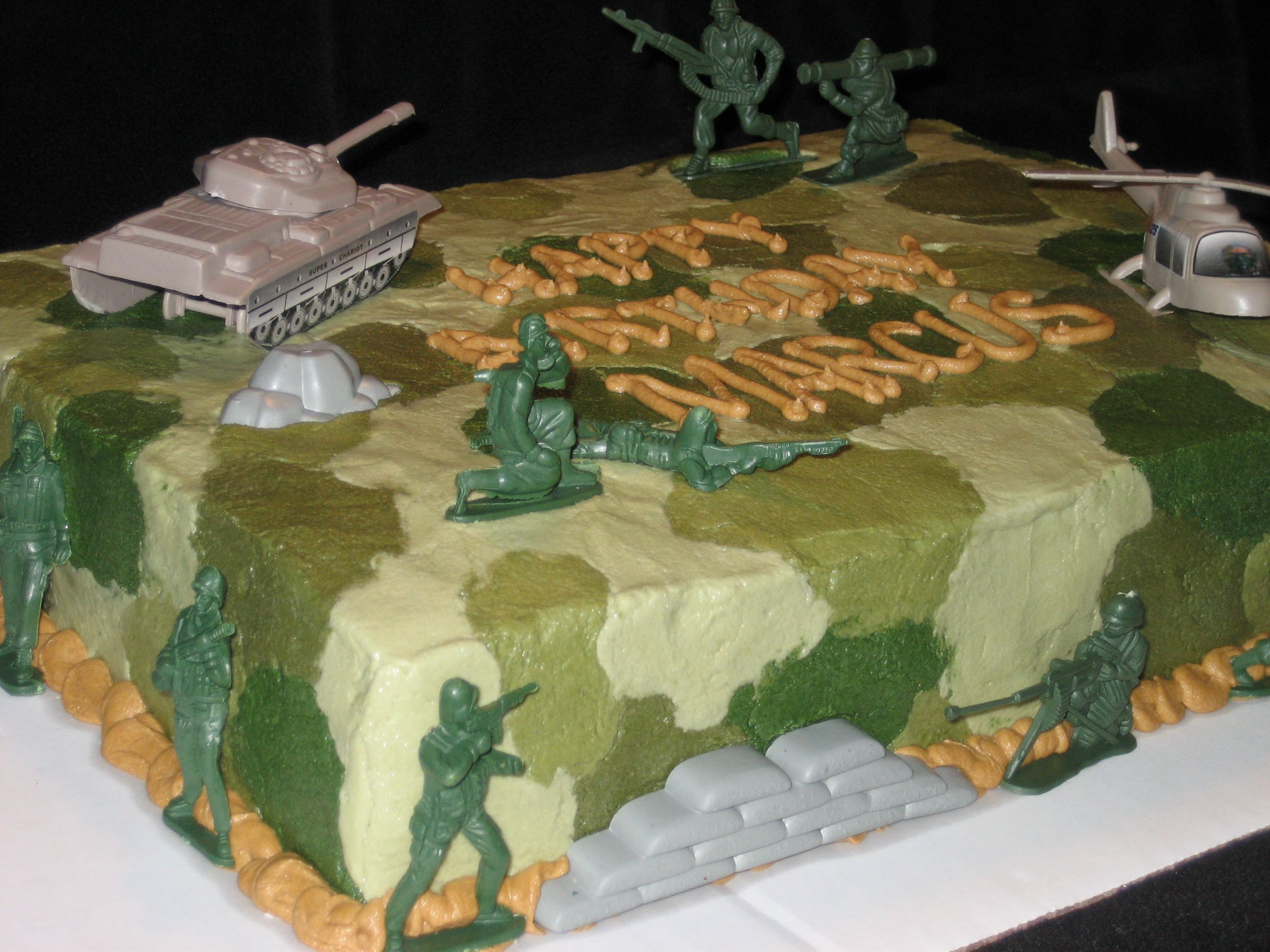 Army Theme Cake Kid Party Ideas Pinterest Army Army Cake And Cake