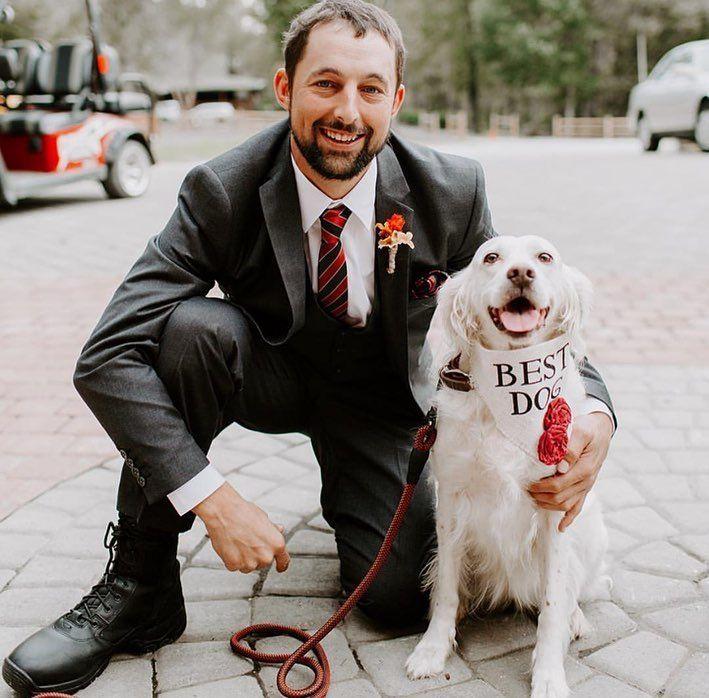 Love these pictures of @caitrose53 's gorgeous family!! ❤️ Photos: Brittani Halbert Photography⠀ ⠀ ⠀ ⠀ | wedding photography dog pictures #dog #dogs #dogstagram #dogsofinsta #pet #pets #petsgram #wedding #weddingdog #etsy #etsyshop #etsyseller #dogofhonor #idotoo #shopsmall #bestdog #handmade #savethedate #weddingphotography #engagementphotos #smallbusiness #bridal #engaged #flowergirl #weddingdetails #chicwedding #weddinginspo #engagement