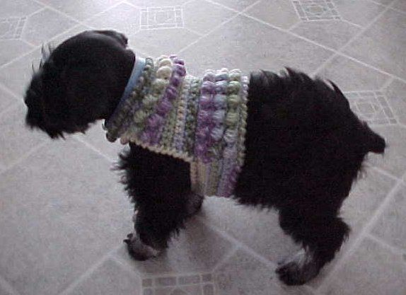 The Best Sweaters and Coats to Crochet for your Dog – free patterns ...