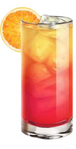 Witches Brew. 2 parts Three Olives® Tartz™ Vodka, 1 part cranberry juice  1 part orange juice, Pour all ingredients into a shaker filled with ice & shake vigorously. Strain into a tall rocks glass filled with ice and garnish with an orange slice.