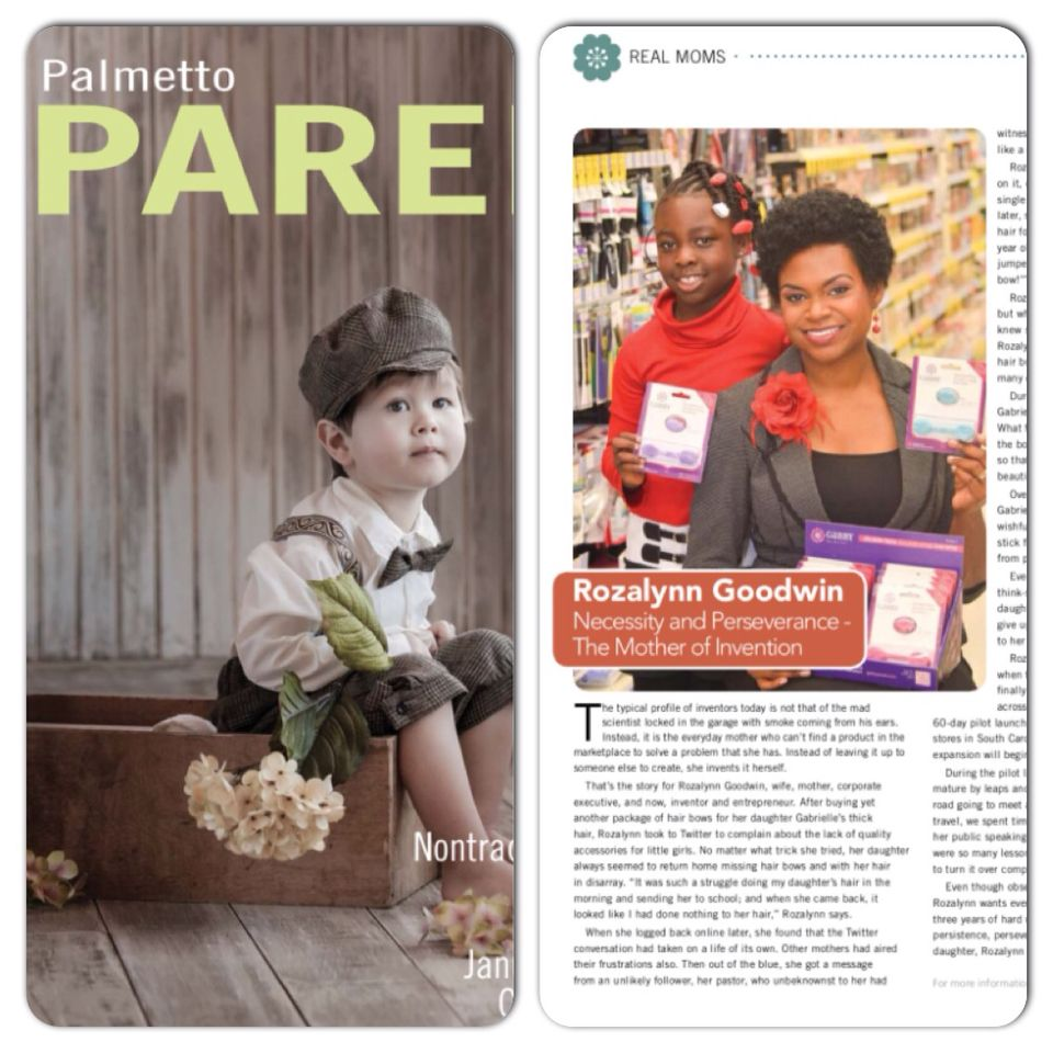 We're featured in Palmetto Parent's January and February 2015 issue! Follow the link in the previous post or pick up your free copy in most grocery stores and pharmacies across the Midlands of SC.