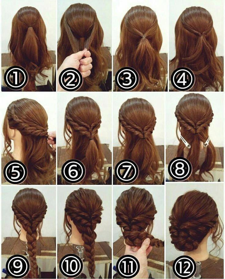 Easy Hairstyles A Kid Can Do Easyhairstyles Pinterest Hair Hair Updos Long Hair Styles
