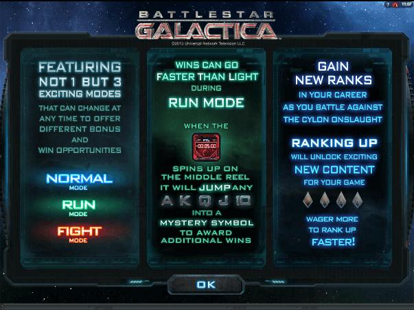Бесплатная игра на аппаратах Галакатика