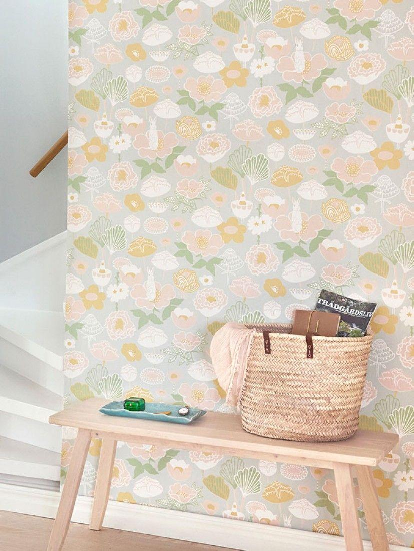Carta Da Parati Degli Anni 70.Little Light Ideas For The House Swedish Wallpaper Grey