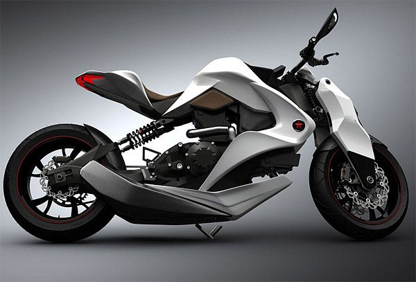 Izh 1 Hybrid Concept Motorcycle Futuristic Motorcycle Concept