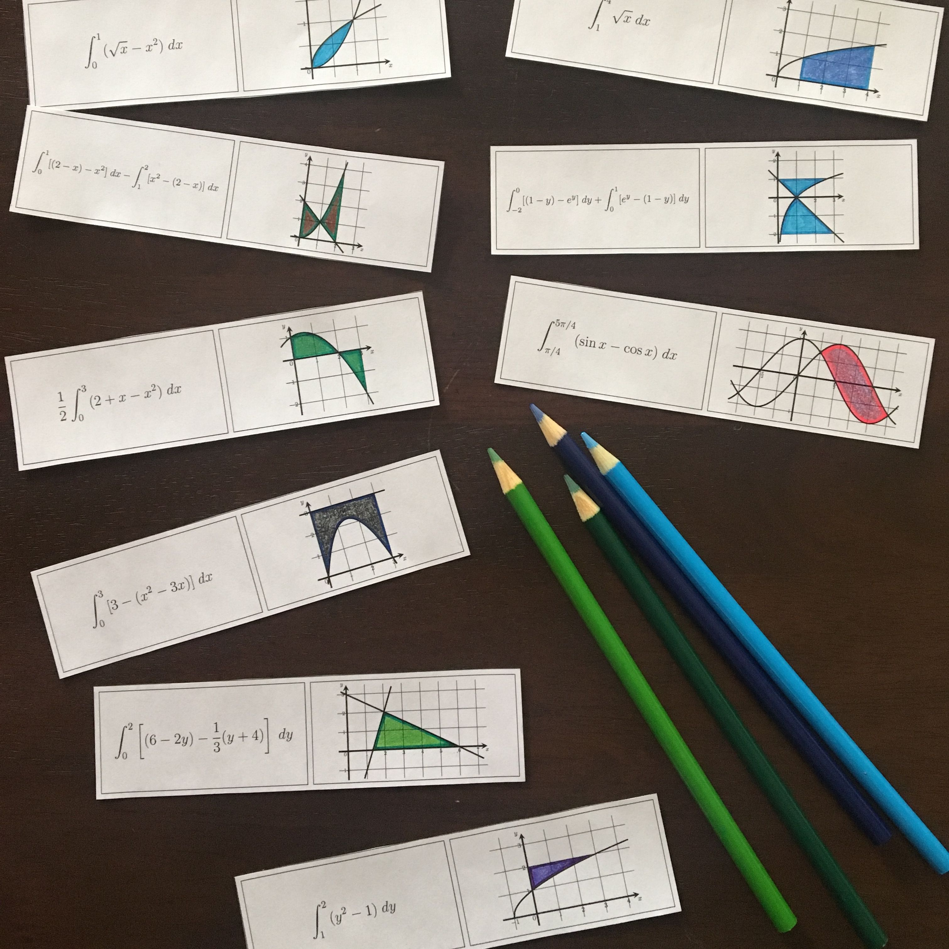 There Is Something Satisfying About Coloring It S Straightforward And Fun This Activity Asks Students To Do Some Colorin Ap Calculus Ap Calculus Ab Calculus