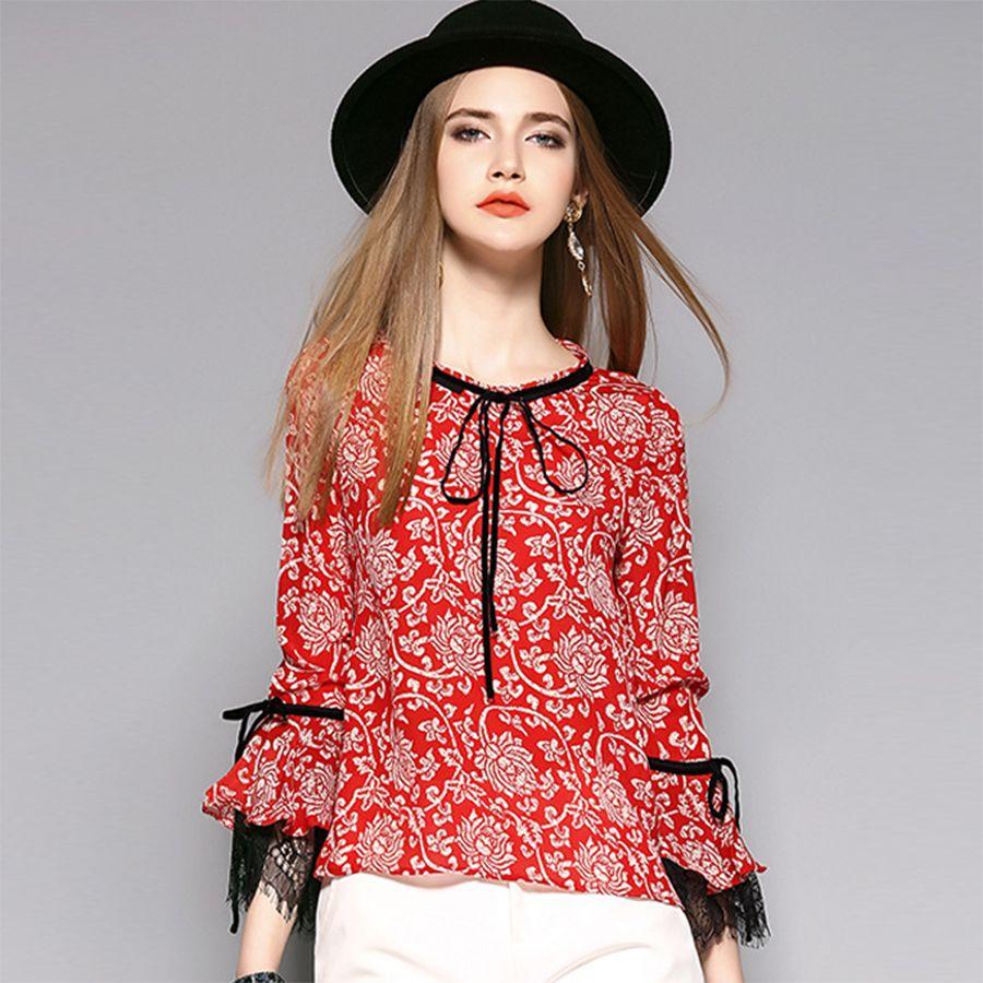 Summer Blouses With Sleeves Lauren Goss