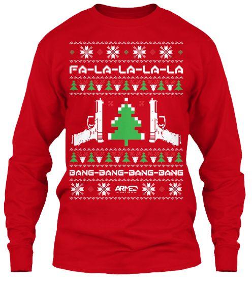 Limited Edition - Bang Bang Bang Bang  Bought this for my Boo! He has a Christmas sweater!
