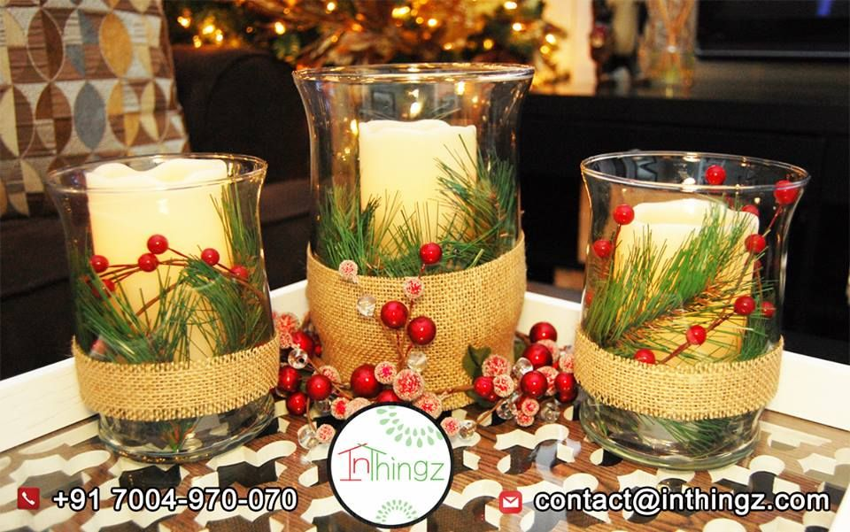 & 40 Attractive And Stylish Christmas Candle Decor Ideas