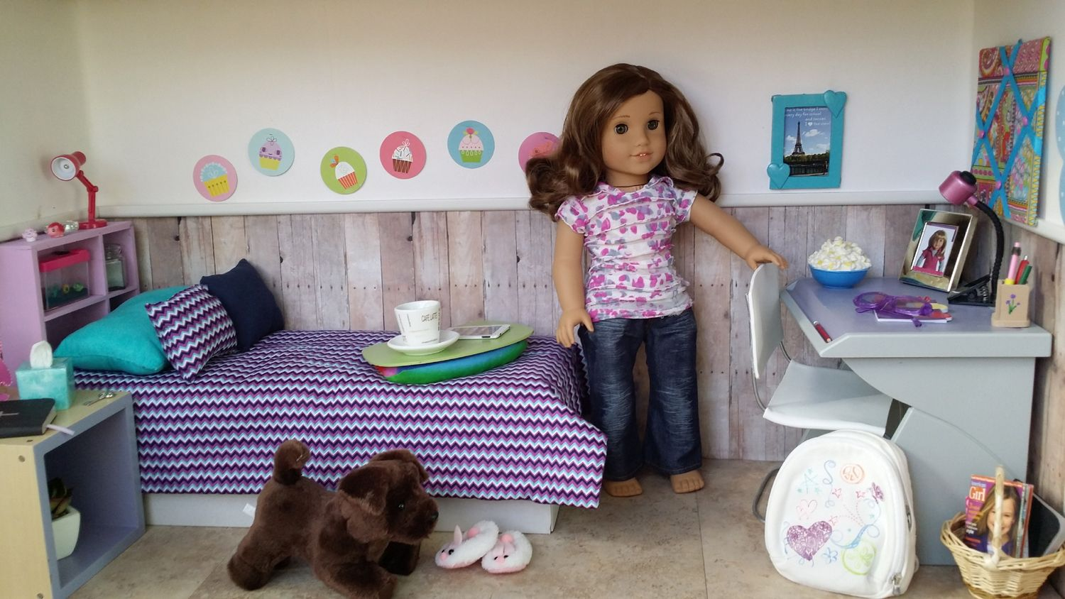 Make A Doll Room Out Of Cardboard Box