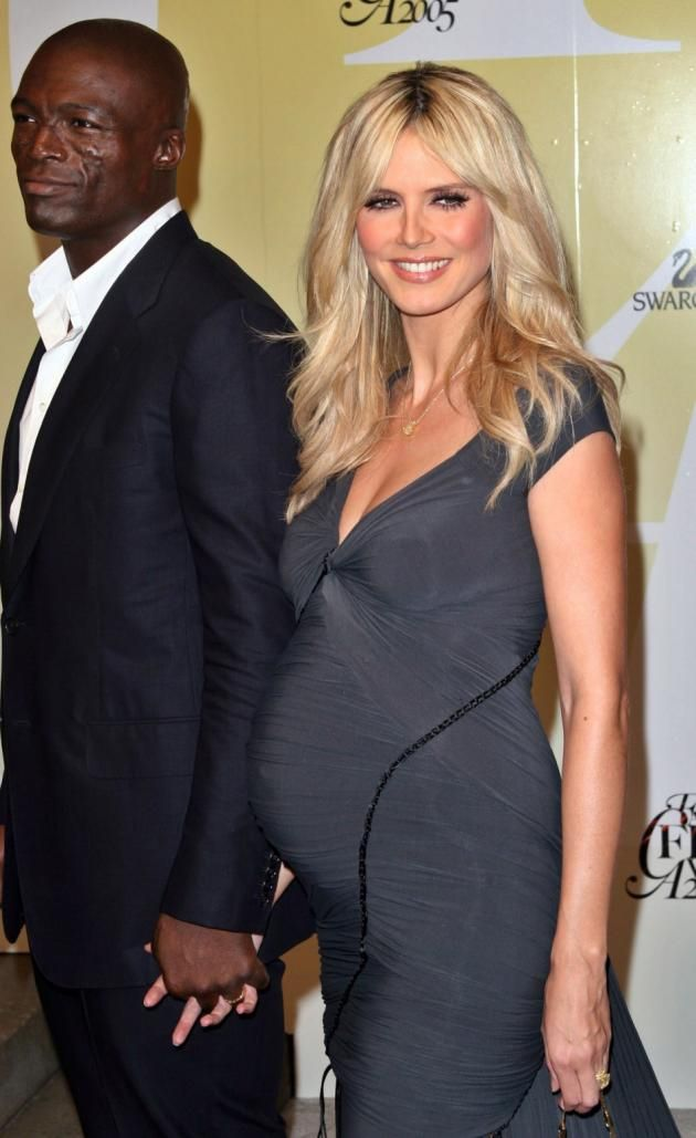 Celebrity casual maternity style wedding