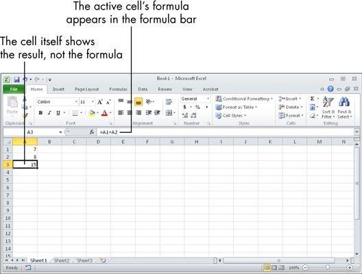 For Seniors How to Write Excel Formulas Computer info Pinterest - excel spreadsheet formulas