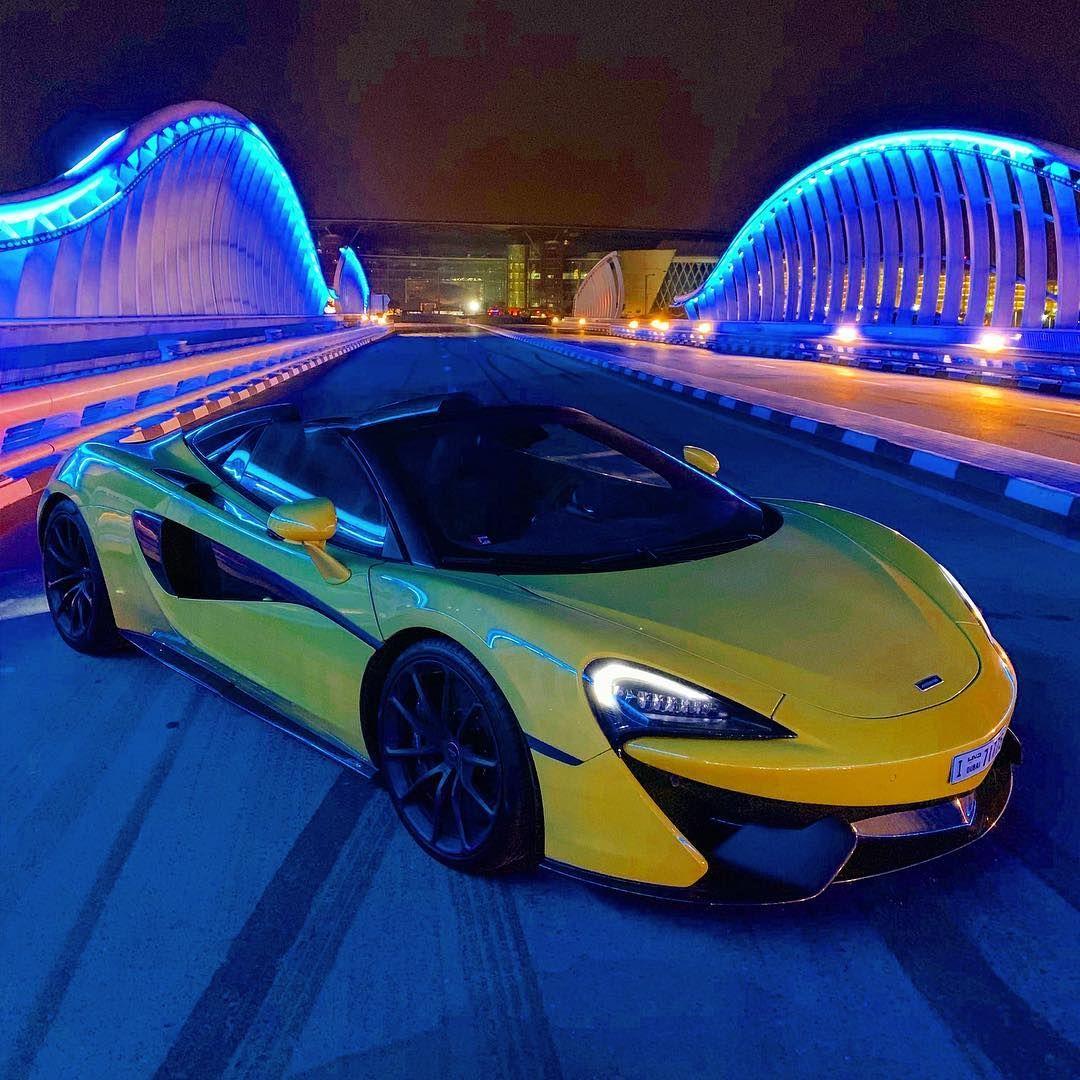 Gercollector On Instagram Dubai Nights Mclaren 570s Spider Mclaren Uae Dubai Cars Super Cars Dubai