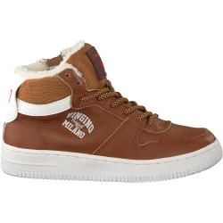 Photo of Vingino Sneaker Elia Mid Cognac Jungen Vingino