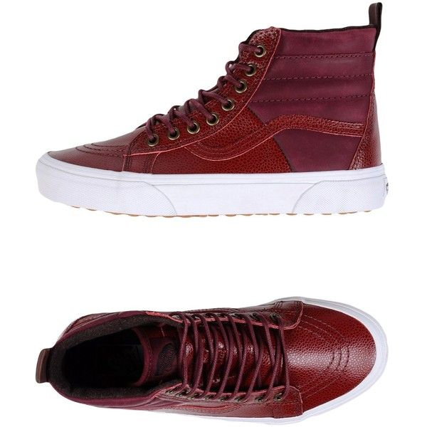 48885f9166 Vans High-tops   Sneakers (£79) ❤ liked on Polyvore featuring shoes ...