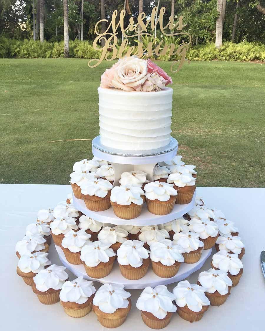 Petal Cupcake Tree (With images) Wedding cake prices