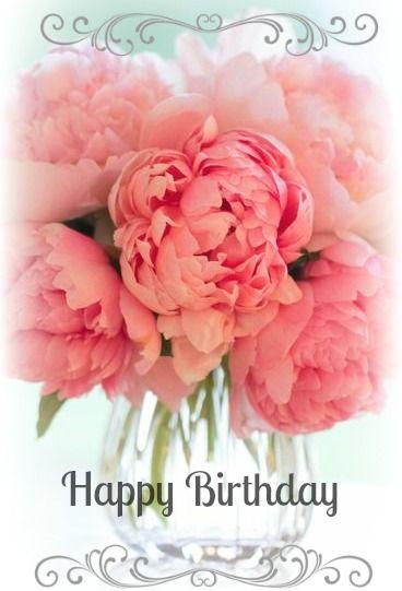 Happy Birthday! … Birthday flowers, Spring wedding flowers