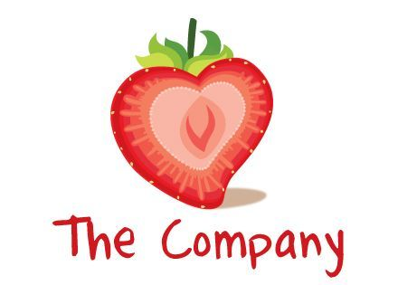 strawberry logo  Google Search dibujo recetas ensalada rellenos dessert recipes salad toast