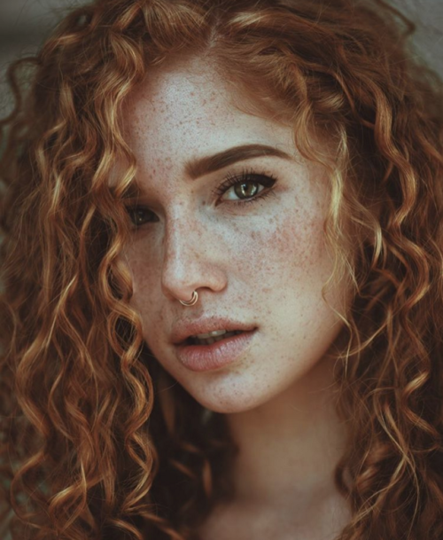 Redheads freckles Hot with