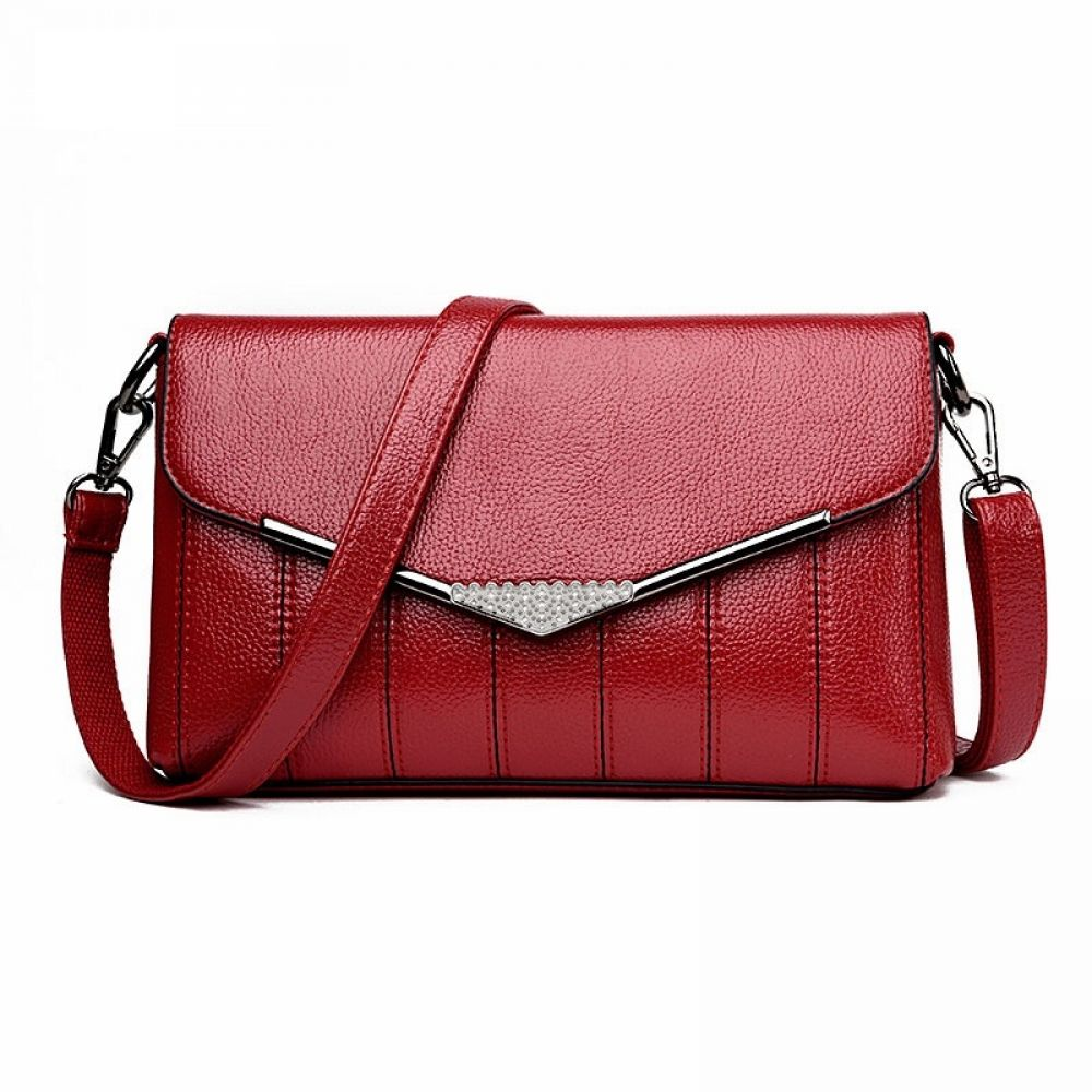 1e0e74160177 PU Leather Flap Messenger Bag Discover wide rage of Women s Bags and  Clutches. Shop different styles like shoulder bags