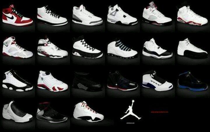 The History of Jordan shoes