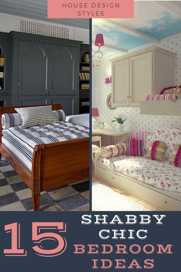 Shabby Chic Bedroom Decor Ideas #shabbychic #shabbychichomedecor