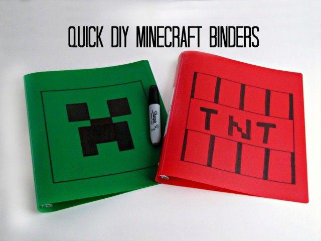 Minecraft Craft Ideas For Kids Part - 23: 40 Minecraft DIY Crafts U0026 Party Ideas