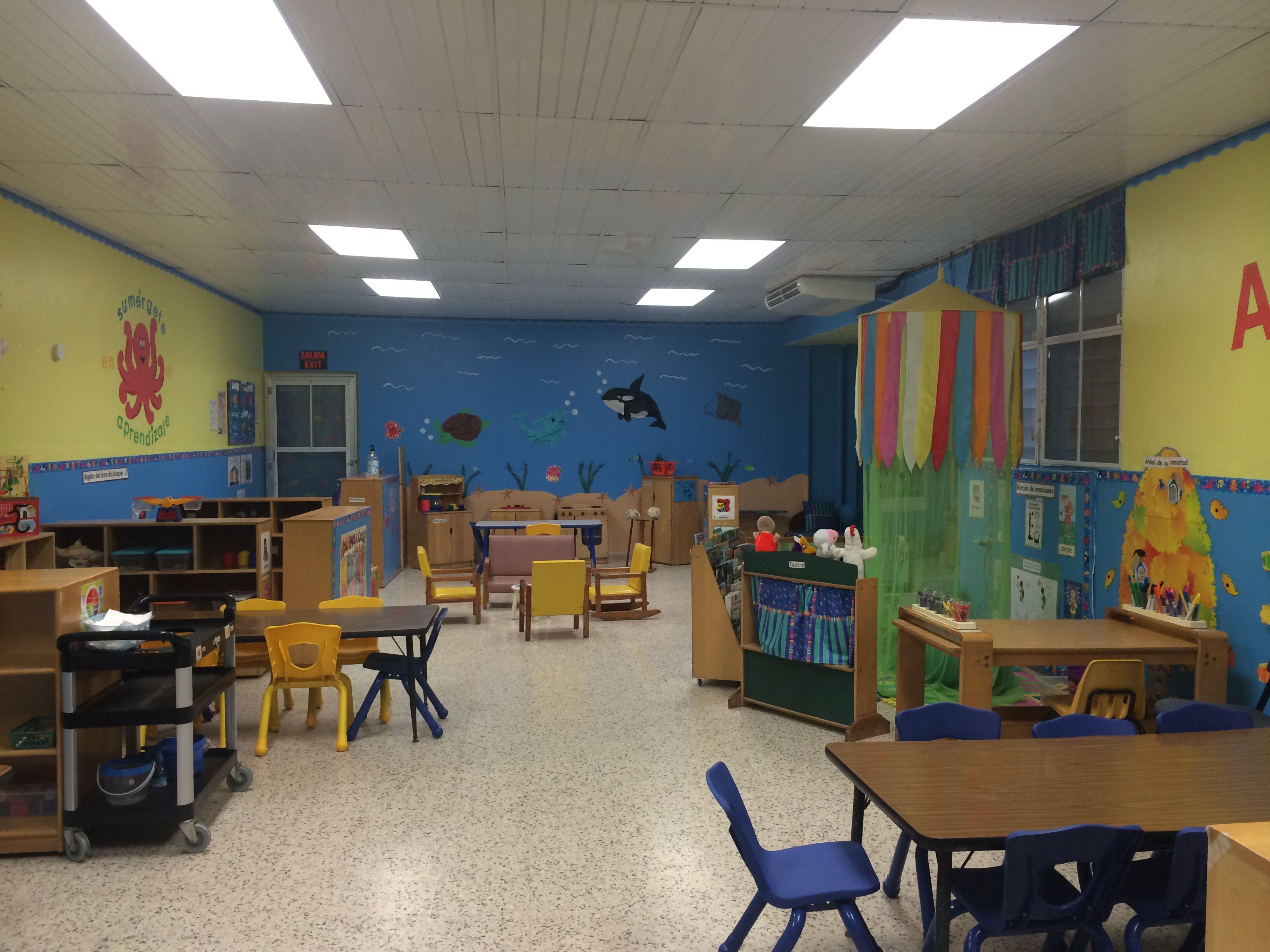 Under the sea classroom theme decoration / decoracion en salon de ...