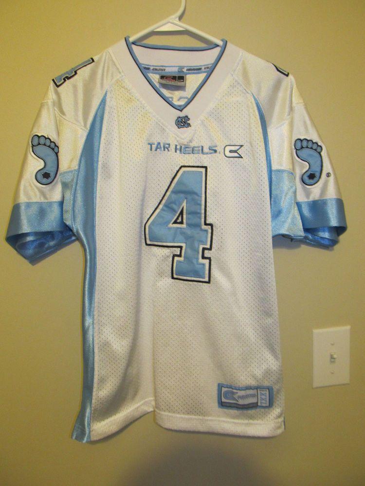 54a35189c52 North Carolina Tar Heels football jersey - Colosseum Youth Medium   ColosseumAthletics  NorthCarolinaTarHeels
