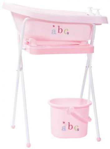 BEBE JOU подставка металлическая под ванночку 98 см нежно-розовая