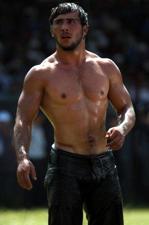 men Turkish muscle
