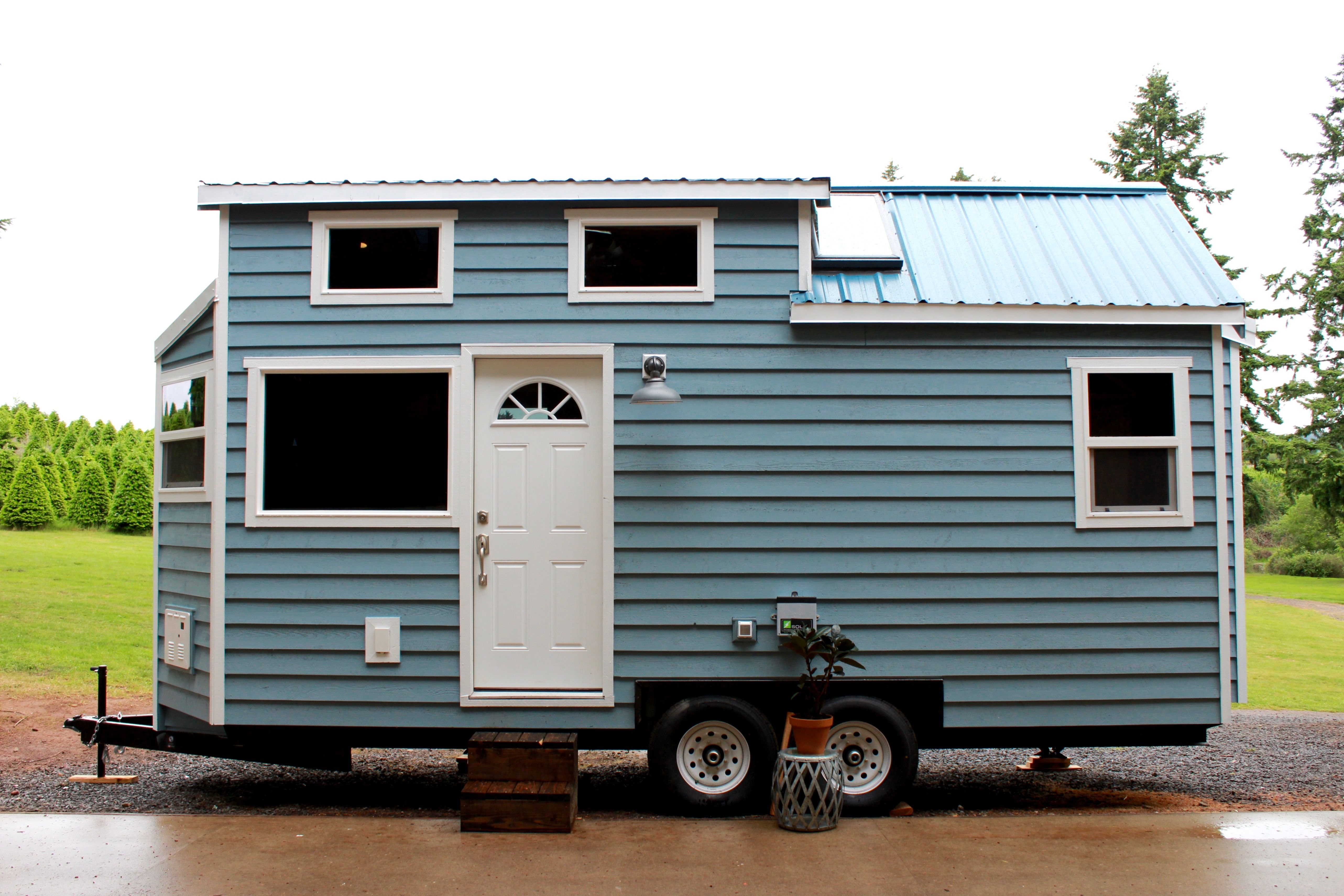 The sapphire house from tiny heirloom tiny house town - The Sapphire Is A One Off Creation From Tiny Heirlooms That Wowed Prospective Tiny House Buyers When It Was Listed For Sale Earlier This Year