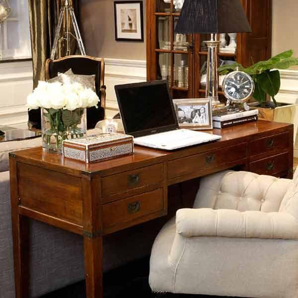 Skrivbord Newport New England Inredning Mobler Study Ideas