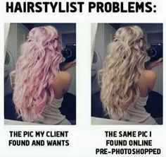 Photoshopped Hair Colors Style De Cheveux Beaux Cheveux Salon De Coiffure