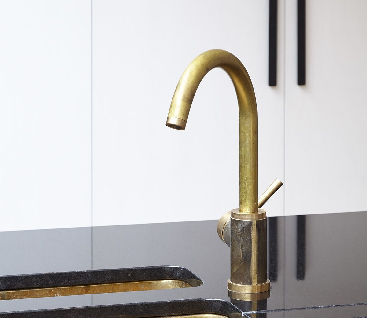 Brass Mixer Tap, one hole with swivel spout | Hardware | Pinterest