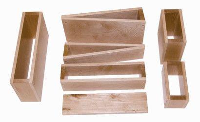 Whitney Bros Hollow Block Set - 18 Blocks