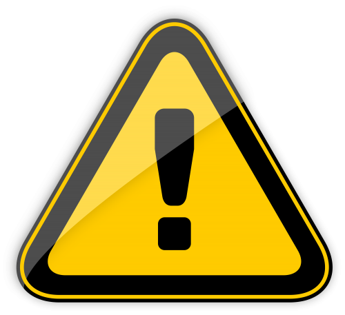 Danger Warning Sign Png Clipart Clip Art Image Resolution Warning Signs