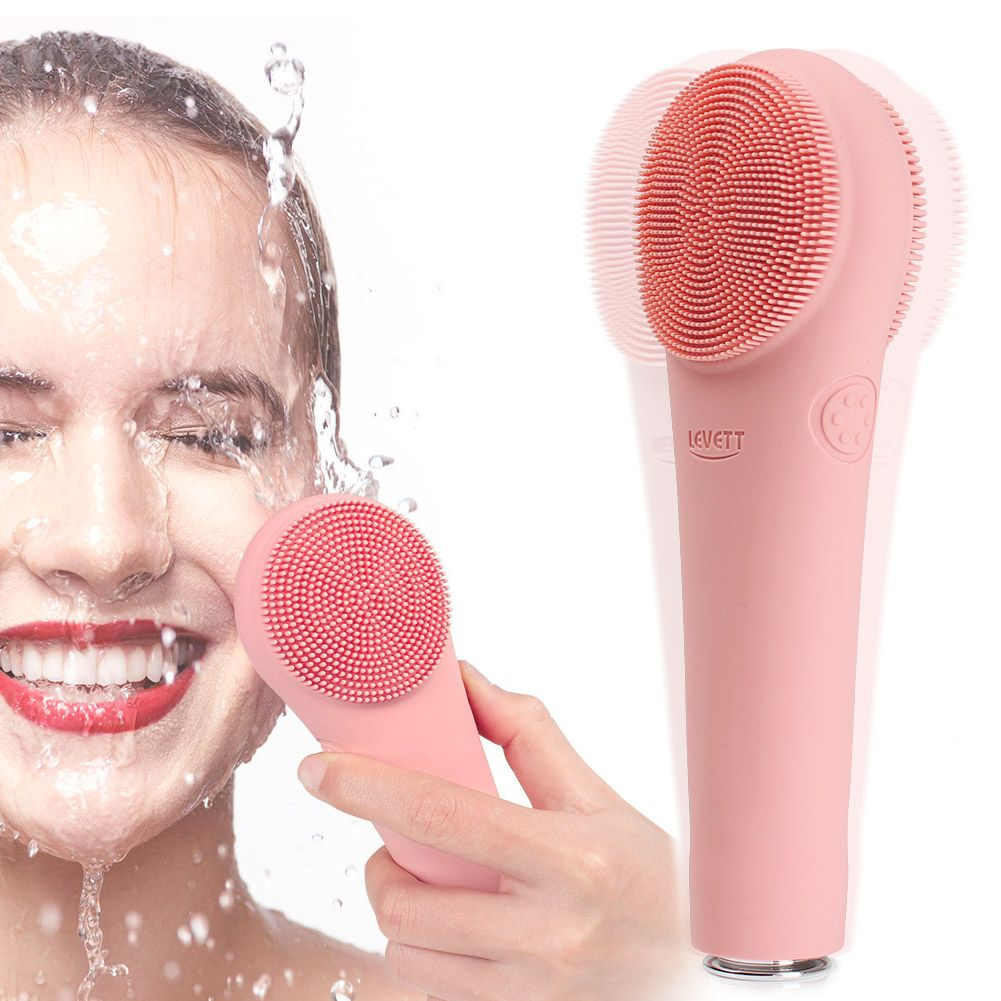 Silicone Facial Cleansing Brush, Waterproof Face Massager