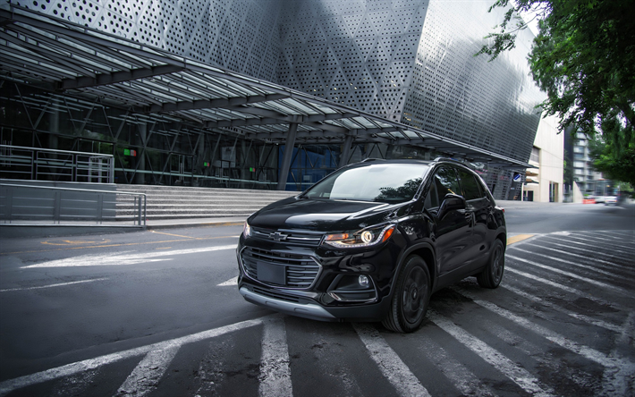 Download Wallpapers Chevrolet Trax Premier 2018 Compact