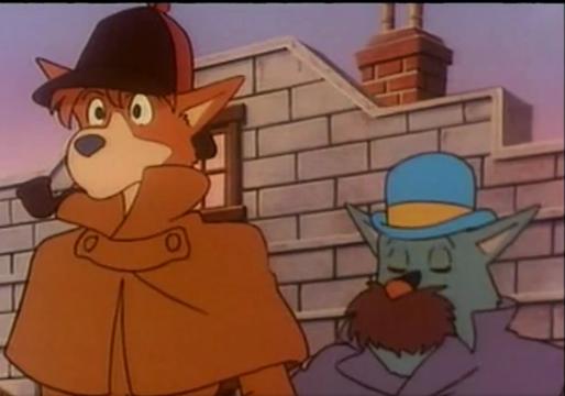Sherlock Holmes/Docteur Watson Dessin animé, Dessin, Anime