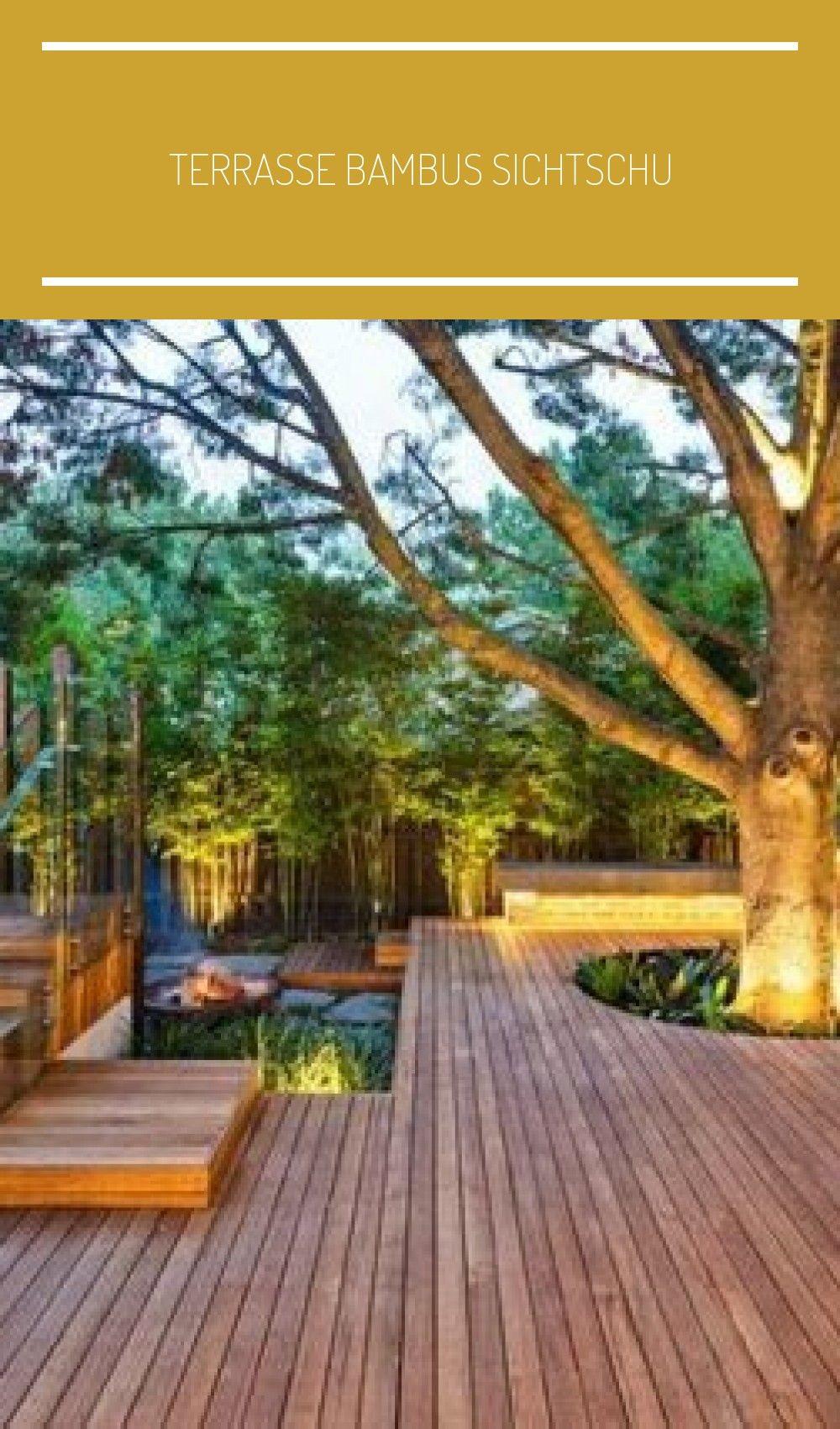Terrasse Bambus Sichtschu En 2020 Con Imagenes Casas Proyectos