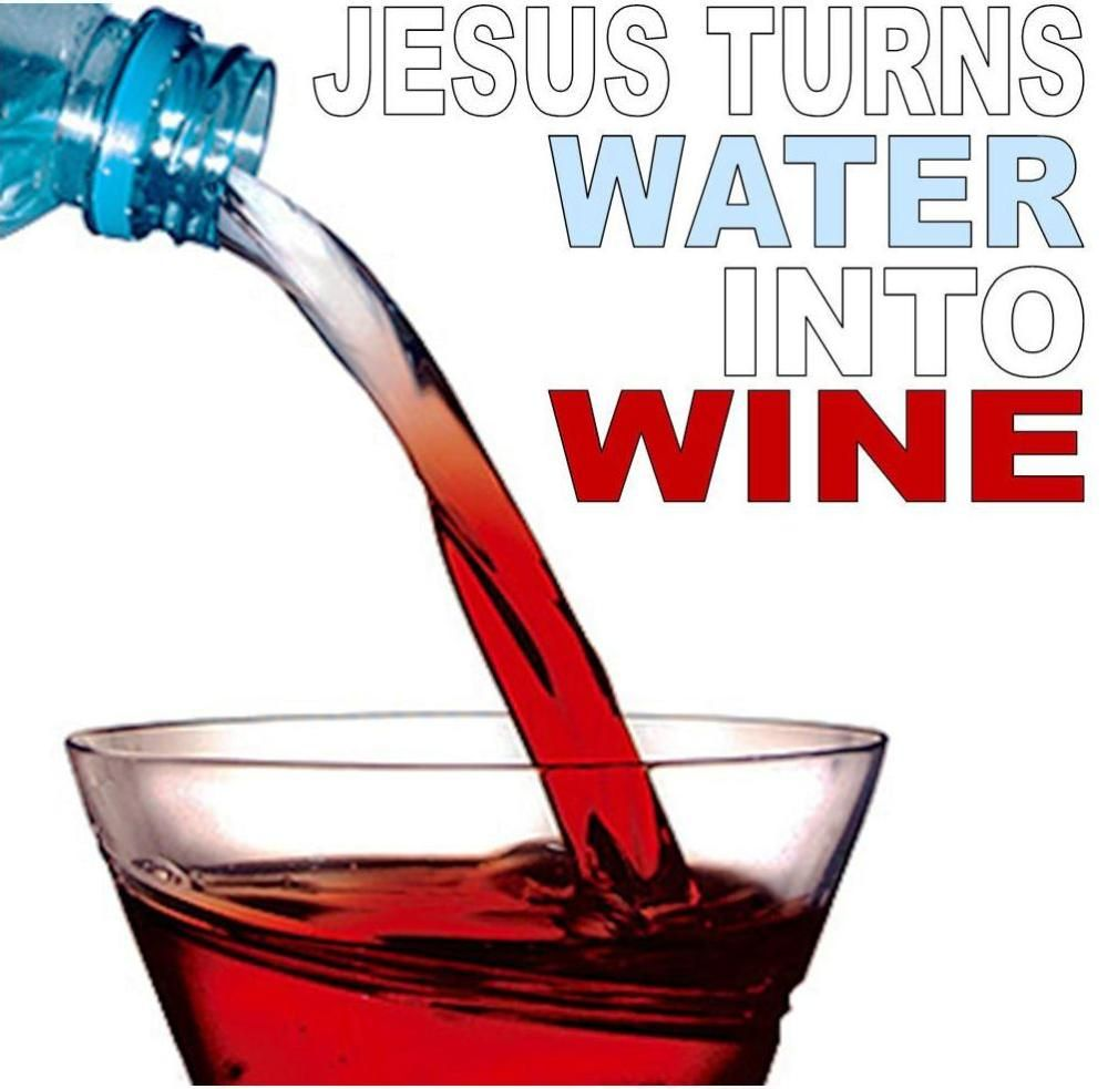 Jesus Turns Water Into Wine Sermon Of The Week With Images Water Into Wine Bible Activities For Kids Bible For Kids