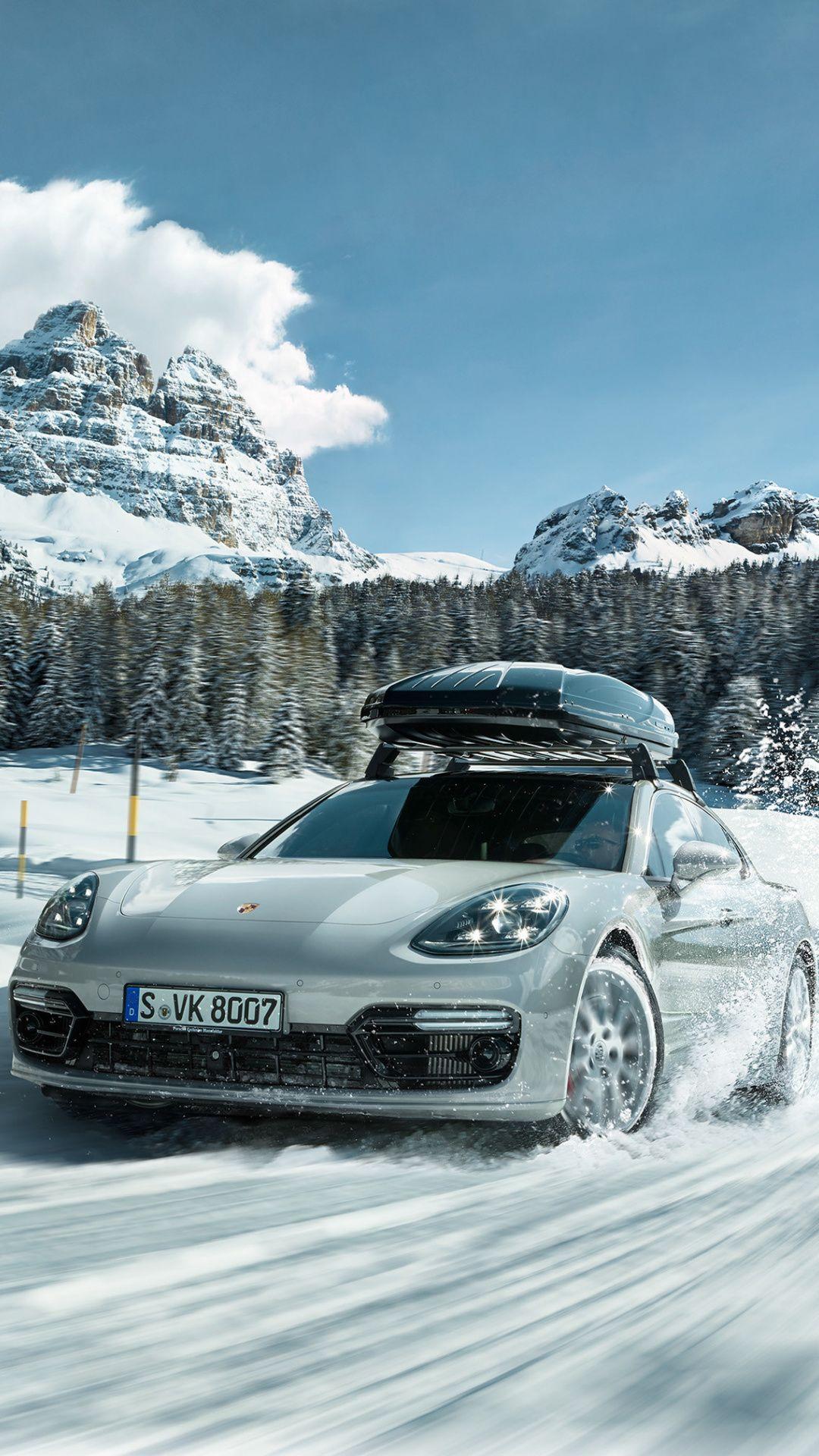Porsche Sports Car Off Road Snow 1080x1920 Wallpaper Sports Cars Luxury Porsche Car Wallpapers