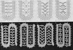 Resultado de imagen para +Encaje+de+Brujas+A+crochet+con+patrones+de+ganchillo