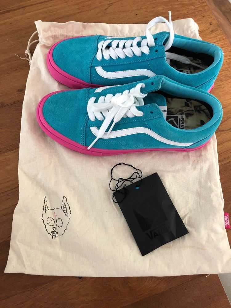 b9f90154374b97 VANS OLD SKOOL PRO S GOLF WANG ODD FUTURE SYNDICATE BLUE PINK VN-0QHMF5E  Mens 7  fashion  clothing  shoes  accessories  mensshoes  athleticshoes  (ebay link)