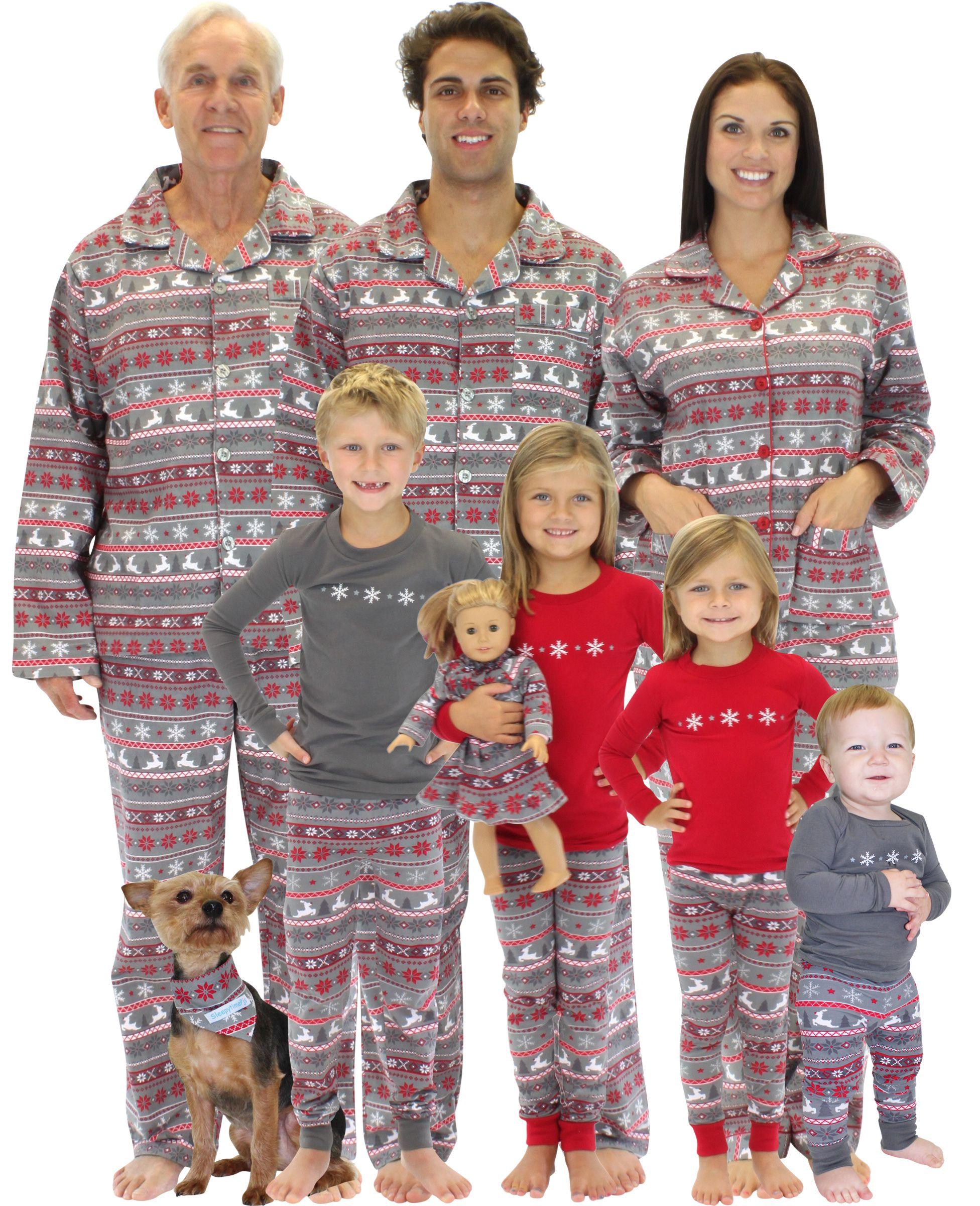 Matching Family Pajamas - A Holiday Tradition and Hot Christmas ... 4409e2b8000c