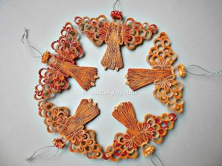 Quilling by Ada:Angels